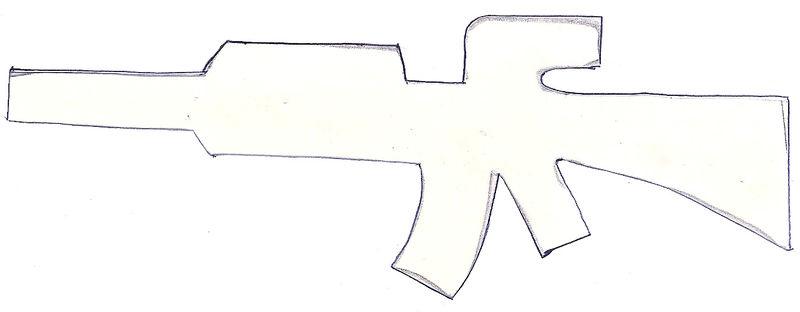 Machinegun template pattern