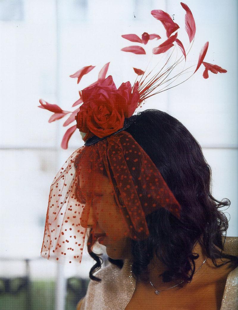 Fashion trims hat
