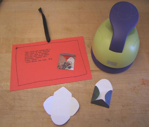 Stefanie Girard card ornament
