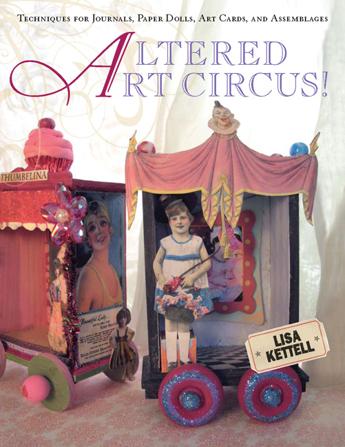 Altered Art Circus Cover