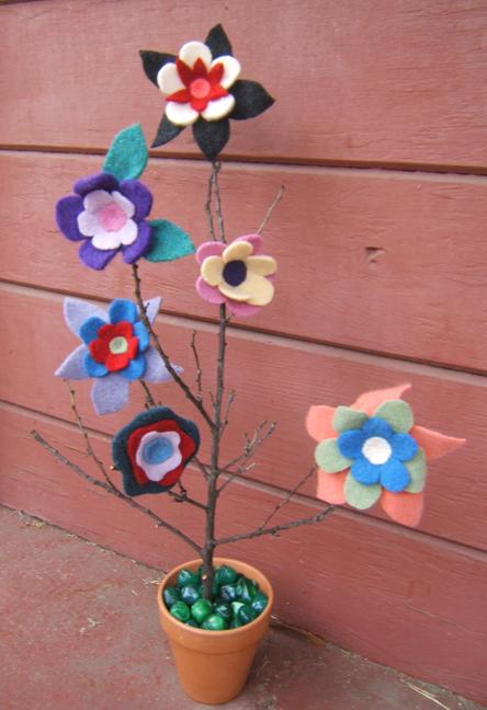 Sweater Surgery Flower Pins