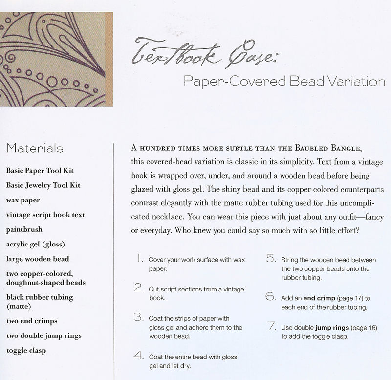 Paper bead directions