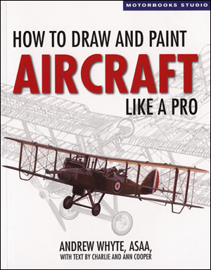 Draw and paint aircraft cover