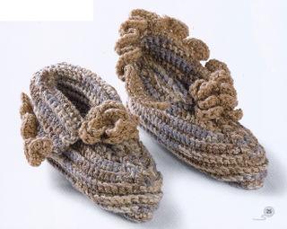 Crochet flower hubert