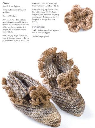 Knit flower hubert