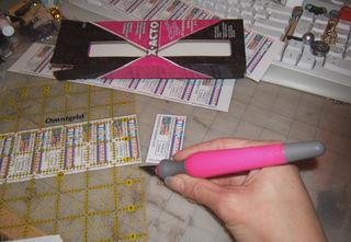 Valentine x-acto pink