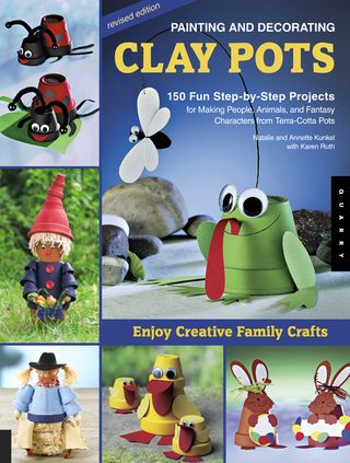 Clay pots cover