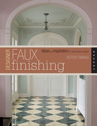 Faux finishing cover
