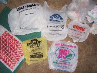 Cool sayings on plastic bags