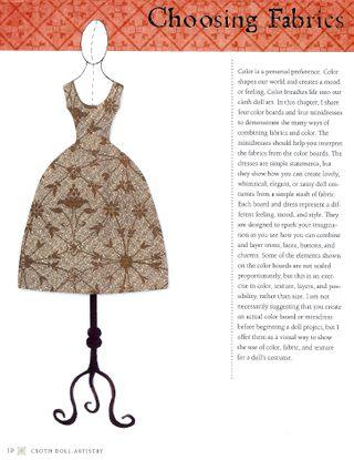 Dress pattern choose fabric