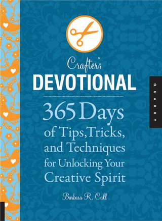 Crafter's devotional cover
