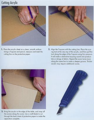 How to cut acrylic