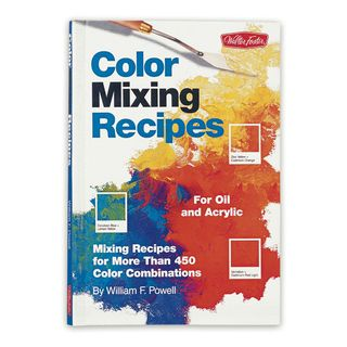 Color mixing recipes cover