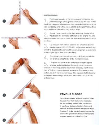 How to paint checkerboard
