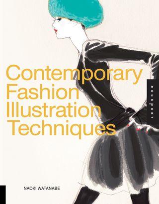 Contemporary fashion illustration cover