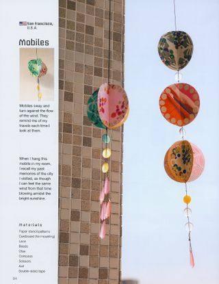 How to paper stencil mobile