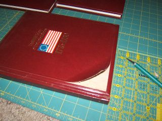 How to cut cover off book