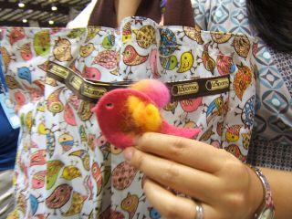 Sizzix bird die cut sweater