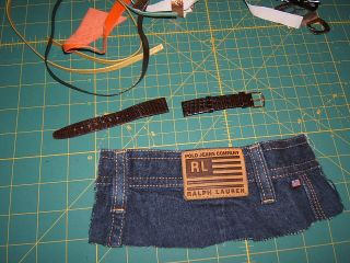 Denim cuff how to recycle