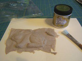 Recycled napkin bunny