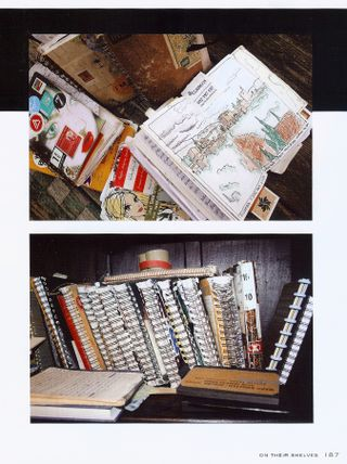 Photo of note books sketch