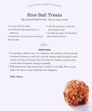 Free cinnamon rice ball treat recipe