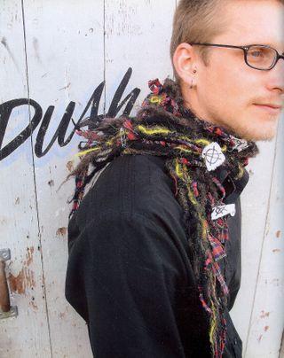Anarchy scarf punk rock