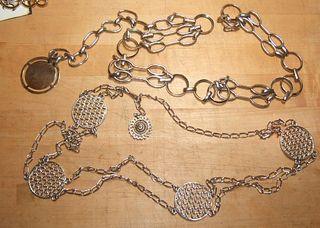 Metal chain disk belt