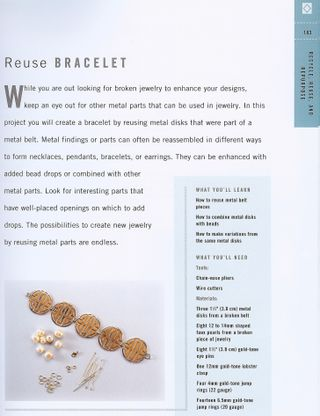 How to recycled bracelet