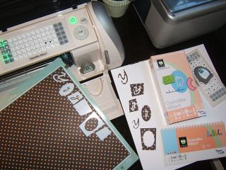 Cricut opposites attract y card