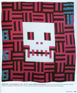 Sew a skull quilt