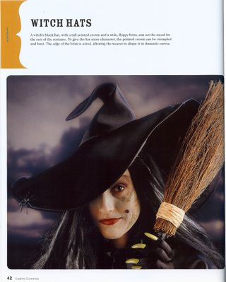 How to sew a witch hat