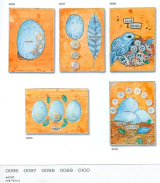 Group of themed atcs