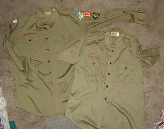Boy scout shirts sew dress