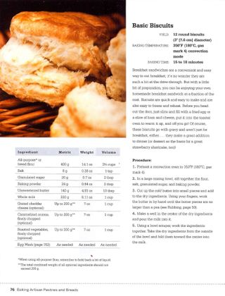 Flavored biscuit recipe veg