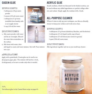 Organic glue cleaner recipe