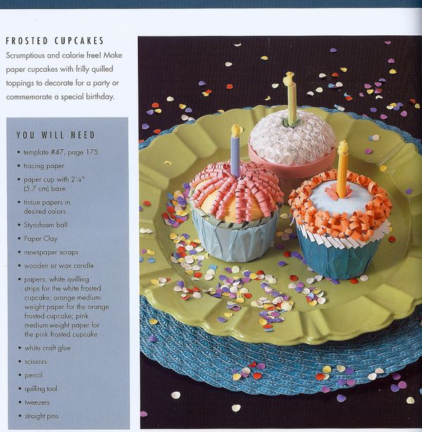 Craftside How To Make A Cupcake With Paper And A Recycled