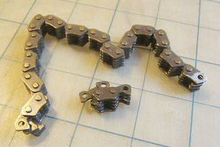 Cam chain steampunk jewelry