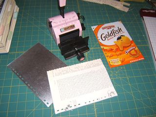 Zutter Bind-it-all book binder hole punch