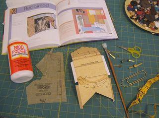 Mod podge decupage pattern paper