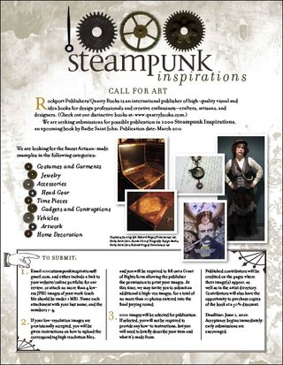 Call for Steampunk entries