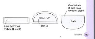 Punk plushie purse pattern