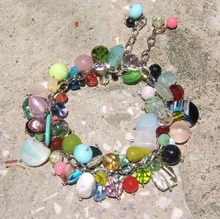 Bead soup necklace stefanie girard