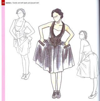 Fun fashion sketch poses