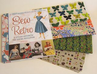 Sew retro sew la fabric 1