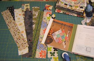 Cutting strips of fabric multiples