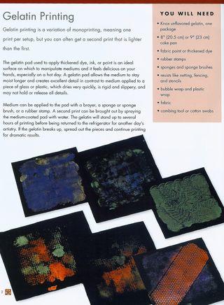 How to make a gelatin print