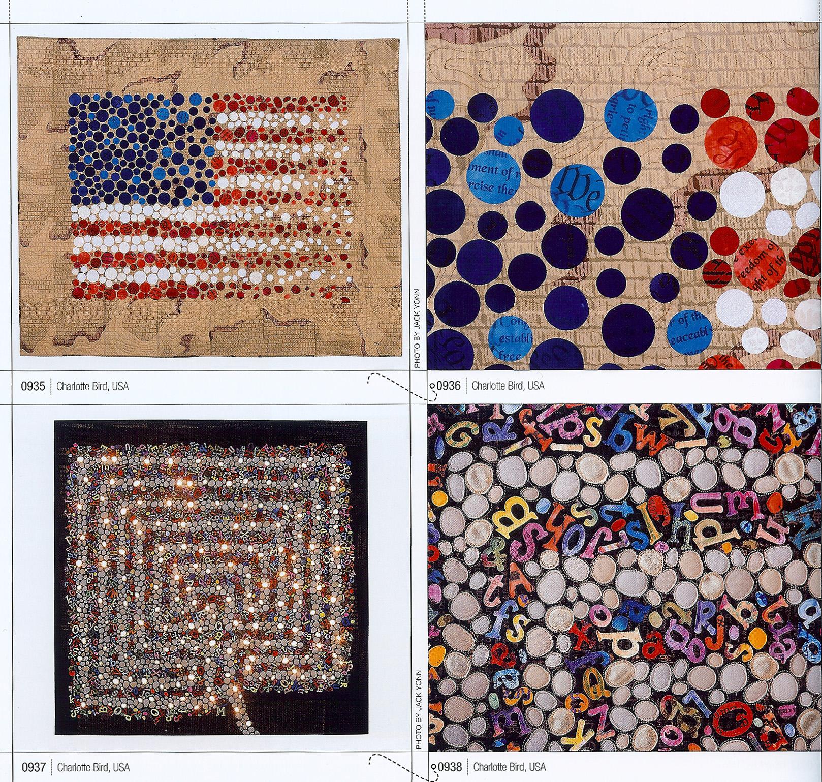 Polka dot american flag qui