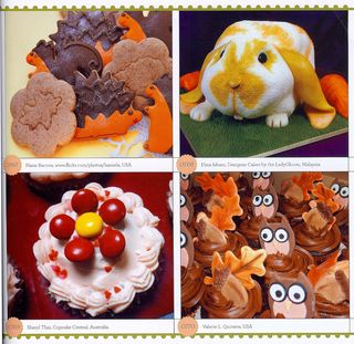 How to decorate fall deserts