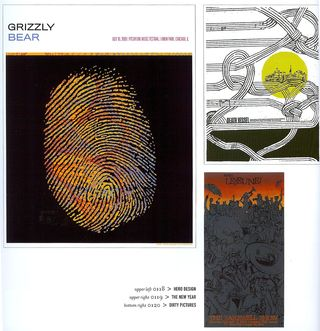 Poster design with finger print